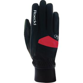 Roeckl Passau Handschuhe Kinder black/red